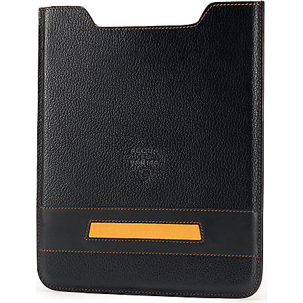 ACQUA DI PARMA Buffalo leather iPad case