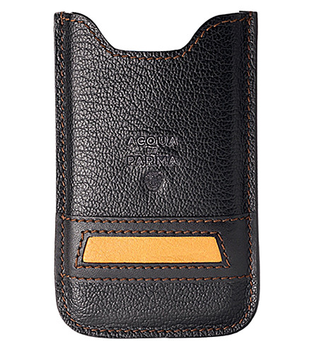 ACQUA DI PARMA Buffalo leather iPhone 4/4S case