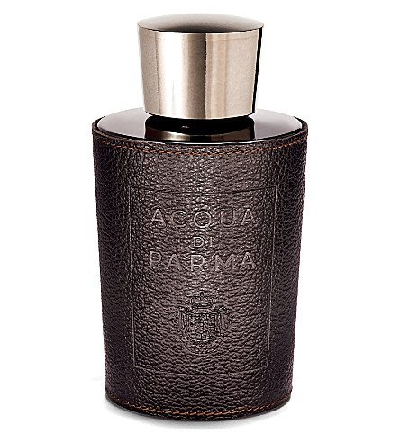 ACQUA DI PARMA Buffalo leather bottle holder
