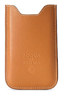 ACQUA DI PARMA Leather iPhone case