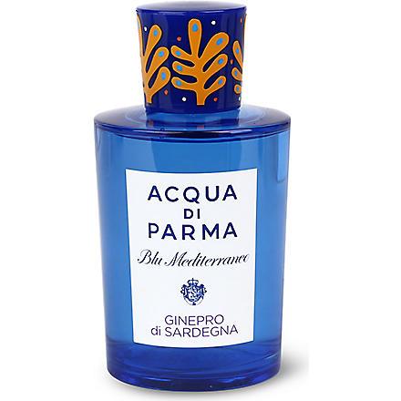 ACQUA DI PARMA Limited Edition Blu Mediterraneo Ginepro di Sardegna eau de toilette 150ml