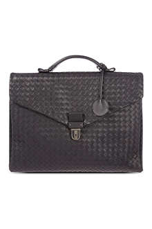 BOTTEGA VENETA Woven briefcase
