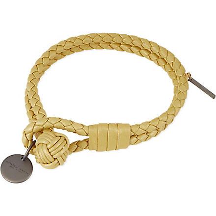 BOTTEGA VENETA Woven double bracelet (Oro
