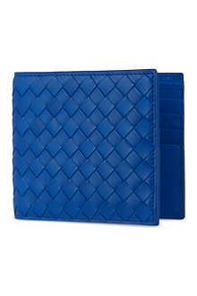 BOTTEGA VENETA Woven leather billfold
