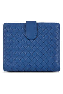 BOTTEGA VENETA Woven French coin purse