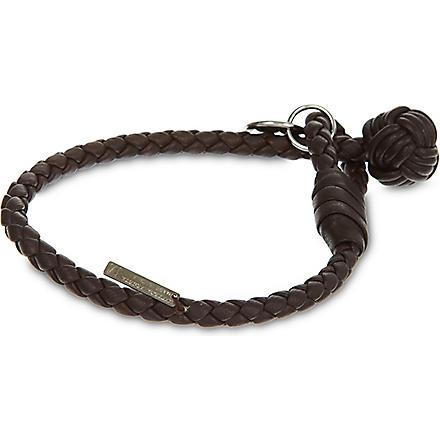 BOTTEGA VENETA Woven bracelet (Ebano