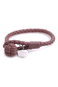 BOTTEGA VENETA Woven leather bracelet
