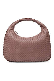 BOTTEGA VENETA Veneta small woven leather hobo