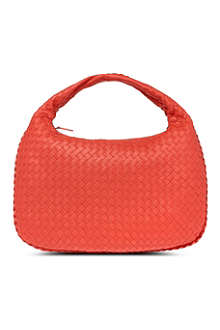 BOTTEGA VENETA Small woven leather hobo bag