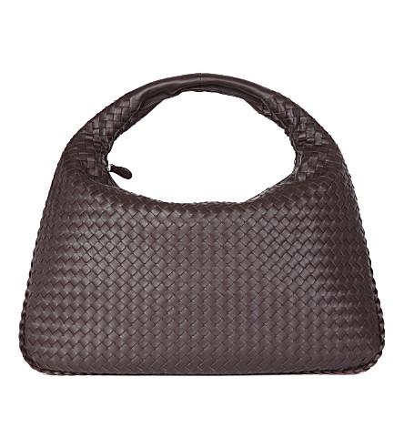 BOTTEGA VENETA Intrecciato leather large hobo bag (Expresso
