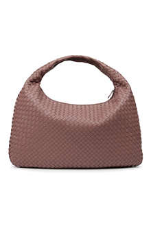 BOTTEGA VENETA Veneta medium woven leather hobo