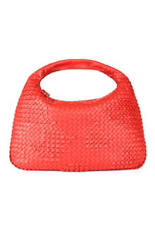 BOTTEGA VENETA Woven leather hobo bag