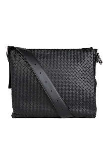 BOTTEGA VENETA Woven leather cross-body bag