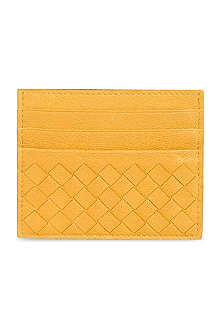 BOTTEGA VENETA Woven card holder wallet