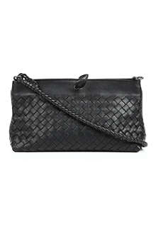 BOTTEGA VENETA Intrecciato woven-leather bag