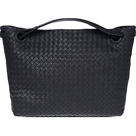 BOTTEGA VENETA Intrecciato shoulder bag (Tourmaline
