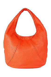 BOTTEGA VENETA Washed Cervo large leather hobo