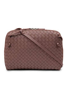 BOTTEGA VENETA Cubo small intrecciato cross-body bag