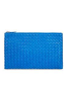 BOTTEGA VENETA Woven leather pouch