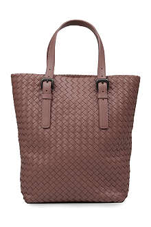 BOTTEGA VENETA Small woven leather tote