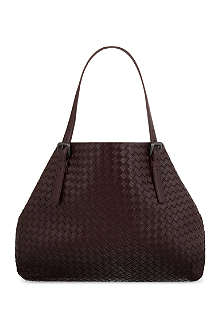 BOTTEGA VENETA Large woven open tote