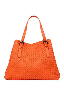 BOTTEGA VENETA Intrecciato leather large tote