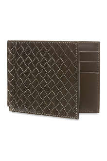 BOTTEGA VENETA Woven leather wallet