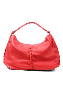 BOTTEGA VENETA Washed Cervo leather hobo
