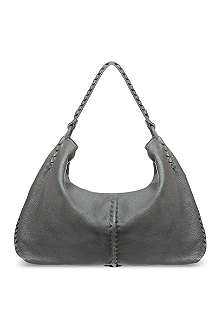 BOTTEGA VENETA Cervo Lavato large hobo bag