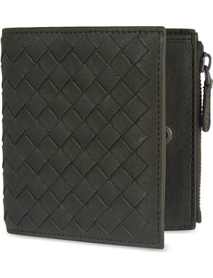 BOTTEGA VENETA Intrecciato leather mini wallet