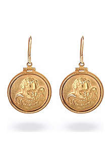 BOTTEGA VENETA Cupid coin earrings
