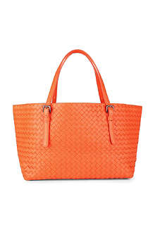 BOTTEGA VENETA Intrecciato leather small tote