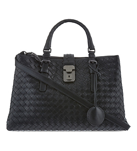 BOTTEGA VENETA Roma cross-body bag (Black