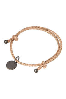 BOTTEGA VENETA Woven adjustable double bracelet