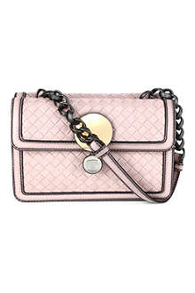 BOTTEGA VENETA Double-sided woven shoulder bag