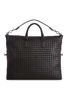 BOTTEGA VENETA Convertible woven maxi shopper