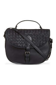 BOTTEGA VENETA Double-side woven cross-body bag