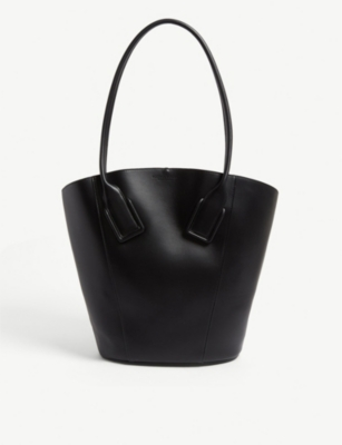 Leather tote bag(8108996)