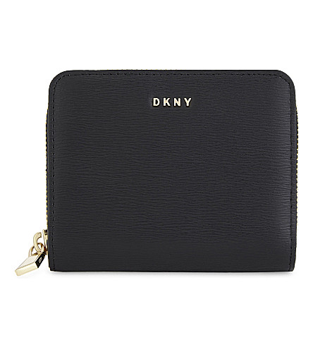 DKNY Bryant carryall leather purse (Black