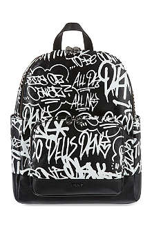 DKNY Active graffiti backpack