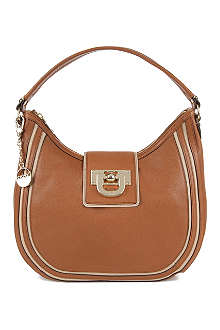 DKNY Heritage Town & Country leather shoulder bag