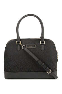 DKNY Town & Country fabric tote