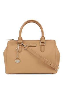 DKNY Saffiano leather tote