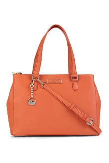 DKNY Saffiano leather shopper