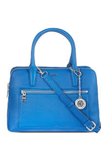 DKNY Tribeca double zip satchel