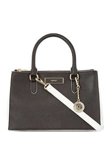 DKNY Saffiano work shopper