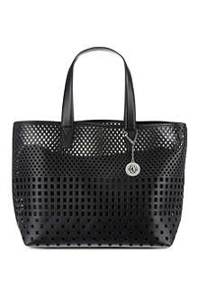 DKNY Perforated tote bag