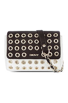 DKNY Eyelet mini cross-body bag