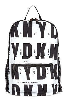 DKNY Runway logo backpack