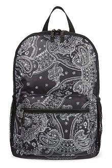 DKNY Runway paisley backpack